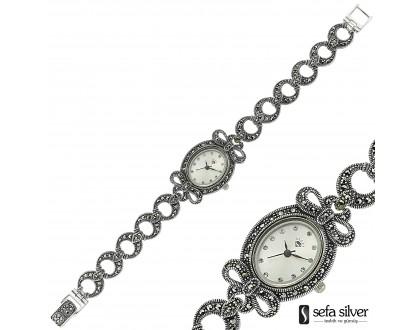 Bayan Gümüş Saat