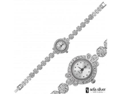 Hediyelik Gümüş Bayan Saat