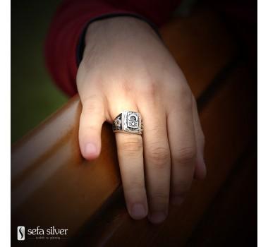 Devlet Bahçeli Gümüş Yüzüğü