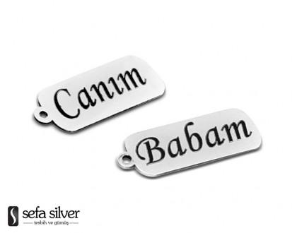 Gümüş İsimli Plaka