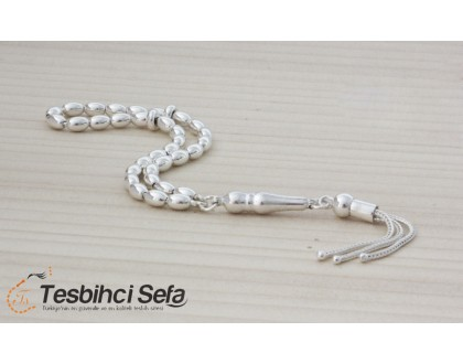 925 Ayar Mini Boy Gümüş Tesbih