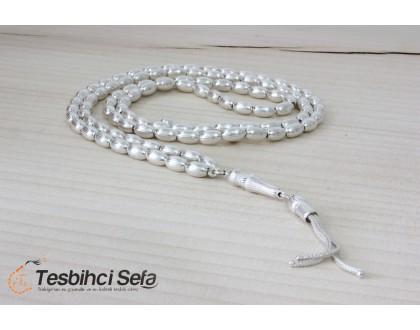 99'luk Gümüş Namaz Tesbihi